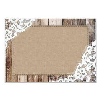 Blank Rustic Invitations & Announcements | Zazzle
