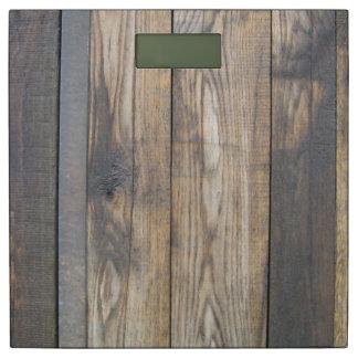 Rustic Wood Look Bathroom Scales Bathroom Scale