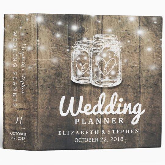 Ring Binder Wedding Planner