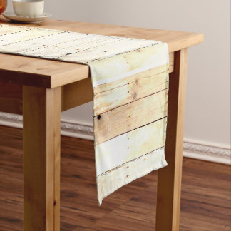 Rustic Wood Old Barn Board Barnwood Paneling Long Table Runner