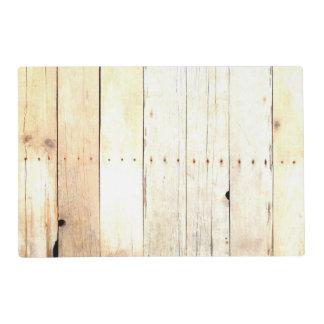 Rustic Wood Old Barn Board Barnwood Paneling Placemat