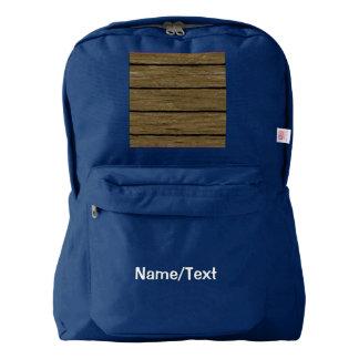 rustic wood planks 15216 backpack