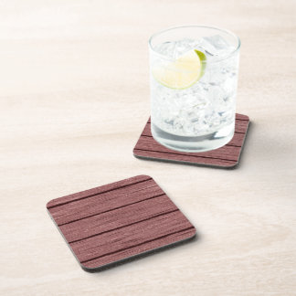 rustic wood planks 15216c beverage coaster