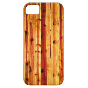 Rustic Wood Planks iPhone 5 Case