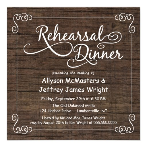 Rustic Rehearsal Dinner Invitations can inspire you to create best invitation template