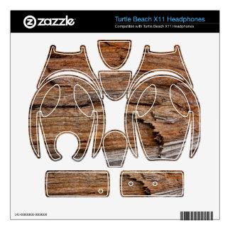Rustic wood turtle beach x11 skins