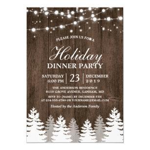 Lights Christmas Invitations Zazzle