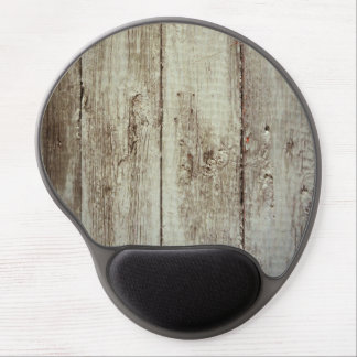 Rustic Wood Texture Gel Mouse Pad