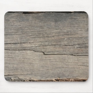 Rustic Wood Texture Mouse Pad