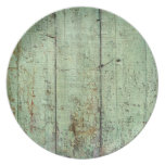 Rustic Wood Texture Plate