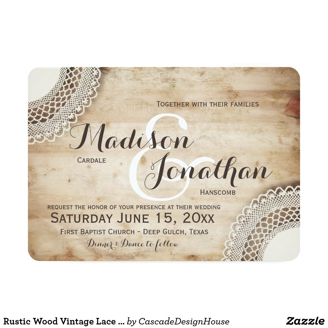 rustic wedding invitations - Vatoz.atozdevelopment.co