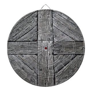 Rustic wood vintage nautical dart boards