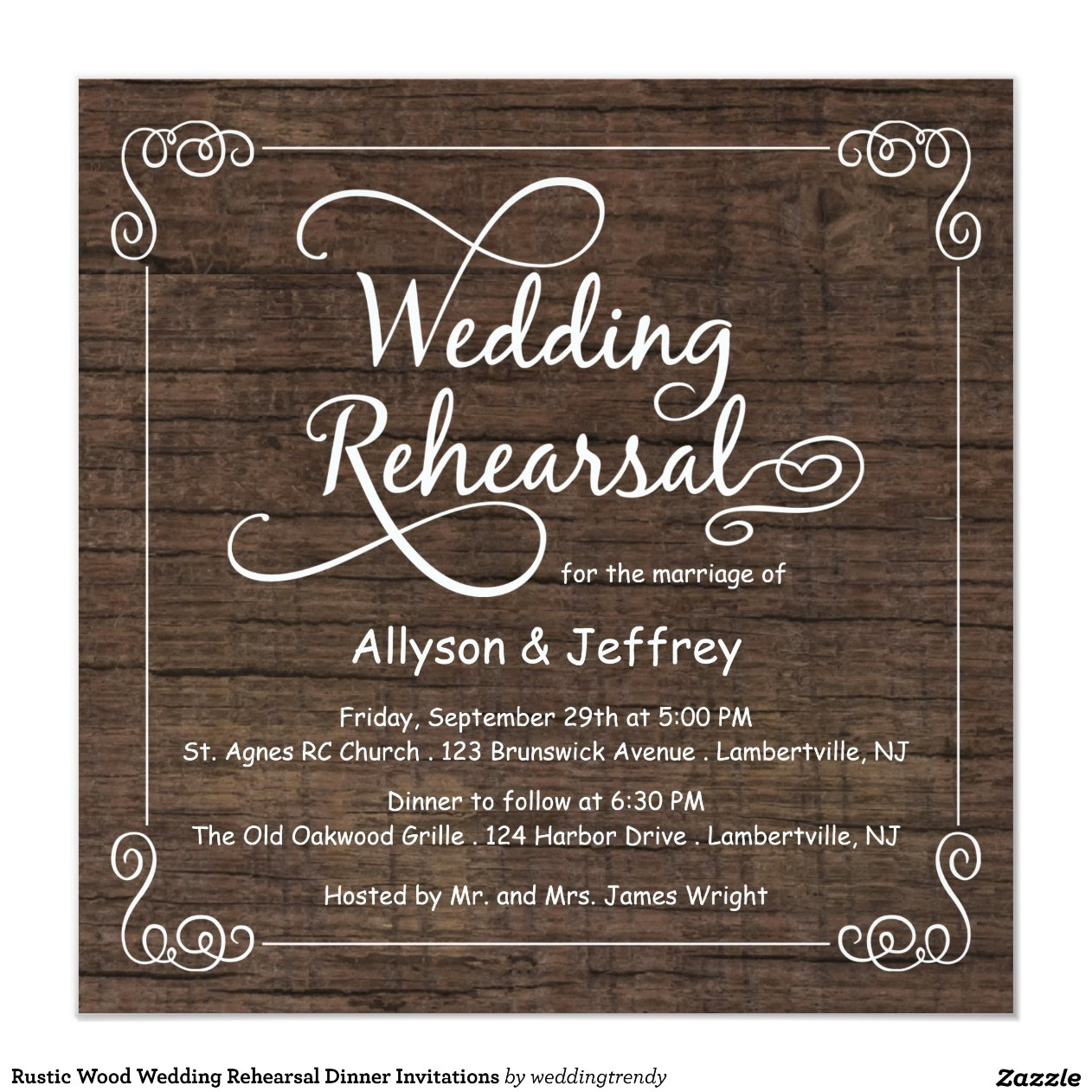 Rustic Rehearsal Dinner Invitations was very inspiring ideas you may choose for invitation ideas