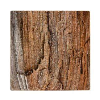 Rustic wood wooden coaster