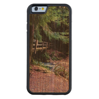 Rustic Wooden Bridge Olympic Park Carved Cherry iPhone 6 Bumper Case