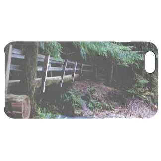 Rustic Wooden Bridge Olympic Park Clear iPhone 6 Plus Case