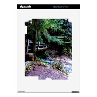 Rustic Wooden Bridge Olympic Park Decals For The iPad 2