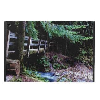 Rustic Wooden Bridge Olympic Park iPad Air Cover