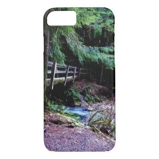 Rustic Wooden Bridge Olympic Park iPhone 8/7 Case