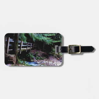 Rustic Wooden Bridge Olympic Park Luggage Tag