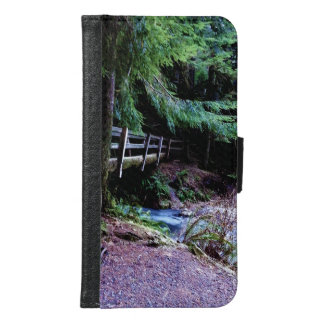 Rustic Wooden Bridge Olympic Park Wallet Phone Case For Samsung Galaxy S6