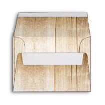 Rustic wooden envelopes for country wedding RSVP