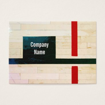 tianxinzheng Rustic Wooden Floor Lines and Markings Business Card