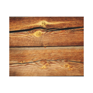 Rustic Wooden Planks  Wood Board Country Gifts Canvas Print