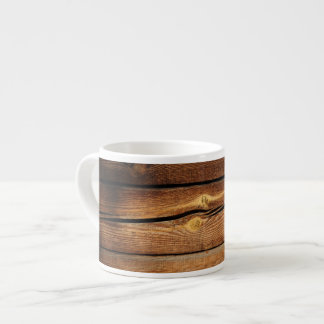 Rustic Wooden Planks  Wood Board Country Gifts Espresso Cup