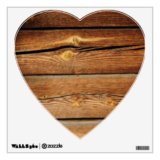 Rustic Wooden Planks  Wood Board Country Gifts Wall Sticker