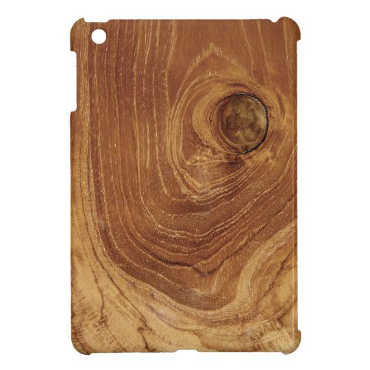 Rustic Wooden Teak Wood Woodgrain iPad Mini Case