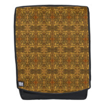Rustic Wooden Western Pattern Backpack