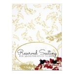 Rustic Woodland Birds Gold Reserved Card