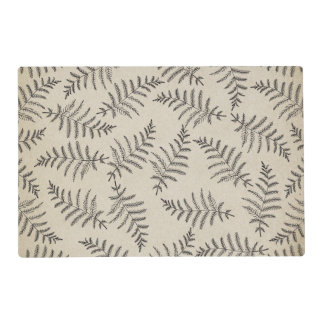 Rustic Woodland Fern Placemat