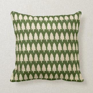 Rustic Woodland Pine Tree Pillows