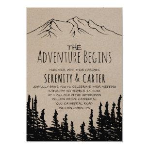 Mountain Wedding Invitations & Announcements | Zazzle