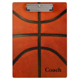 Rustic Worn Basketball Clipboard