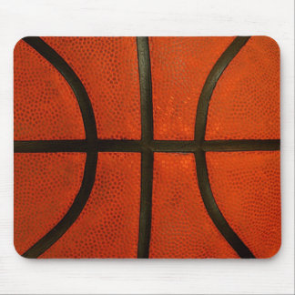 Rustic Worn Basketball Mouse Pad