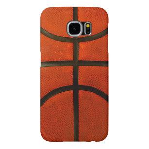 sale retailer 5c395 baecf Rustic Worn Basketball Samsung Galaxy S6 Case