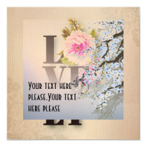 Rustic,worn,roses,floral,lovely,shabby chic,countr magnetic card