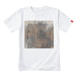 rustic,worn,wood,brown,wall,vintage,country,chic,s zazzle HEART T-Shirt