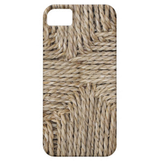 Rustic Woven Pattern Image. iPhone 5 Case