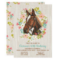 FarmPartyus Horse Party Invitations Horse Birthday Party