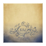 Rustic Yellow and Grey Bohemian Guest Book Canvas Canvas Prints