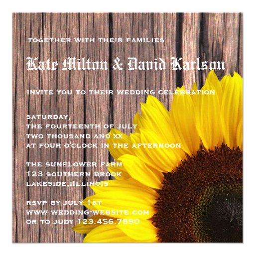 Rustic Invitation for amazing invitation ideas