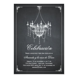 Rústica del araña de Invitaciones de la fiesta de Invitación 12,7 X 17,8 Cm
