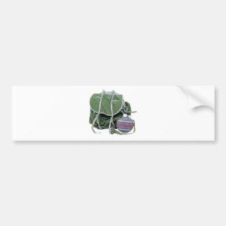 RusticBackpackCanteen050209 Bumper Sticker