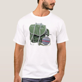 RusticBackpackCanteen050209 T-Shirt