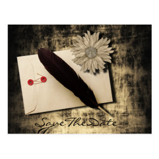 RusticDaisy LoveLetter Vintage Wedding Post Cards