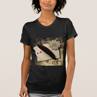 RusticDaisy LoveLetter Vintage Wedding T Shirts